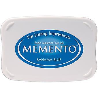 Memento Dye Ink Pad-Bahama Blue