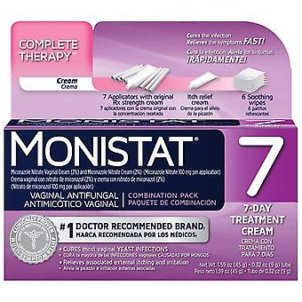 Monistat 7 triple action, combination pack, 7-day treatment, 1 kit