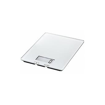 Digital Kitchen Scale | White Scale for Cooking and Measuring | Digital Screen | Elegant Slim Design | Up to 5 Kg