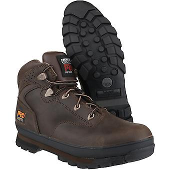 Timberland Mens Euro Hiker Lace Up Slip Resistant Work Safety Boot