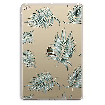 iPad ミニ 4 透明ケース (ソフト) - 単純な葉します。