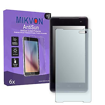 Medion Life P4501 Screen Protector - Mikvon AntiSun (Retail Package with accessories)