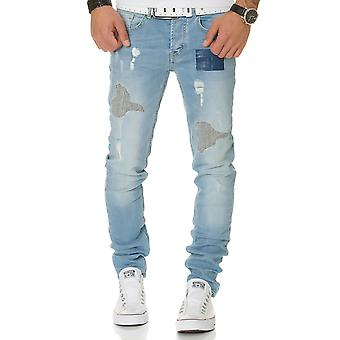 L.A.B 1928 men's jeans denim pants blue
