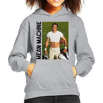 Burt Reynolds Mean Machine Pose Kid's Hooded Sweatshirt