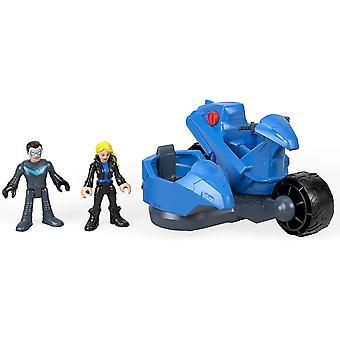 Imaginext Dc Super amici - Nightwing e trasformando il ciclo ' Playset