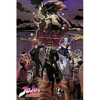JoJo Bizarre Adventure grupo Poster Maxi 61x91.5cm