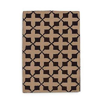 Hand Tufted Wool Rug (cross)