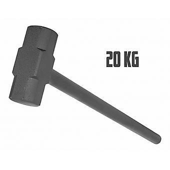 Marteau en acier de gymnastique 20kg