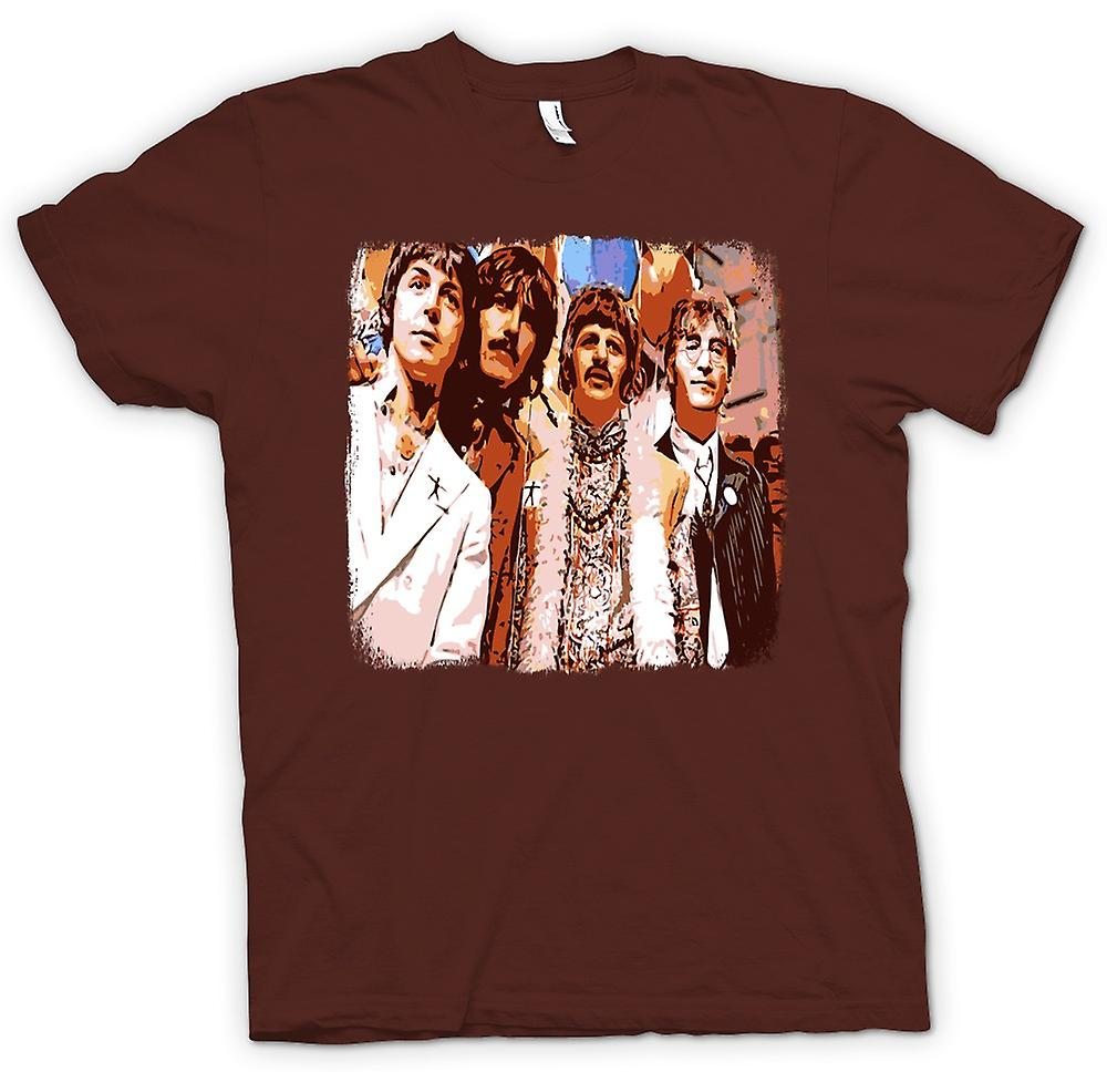 Mens T-shirt - The Beatles - Pop Art - '60