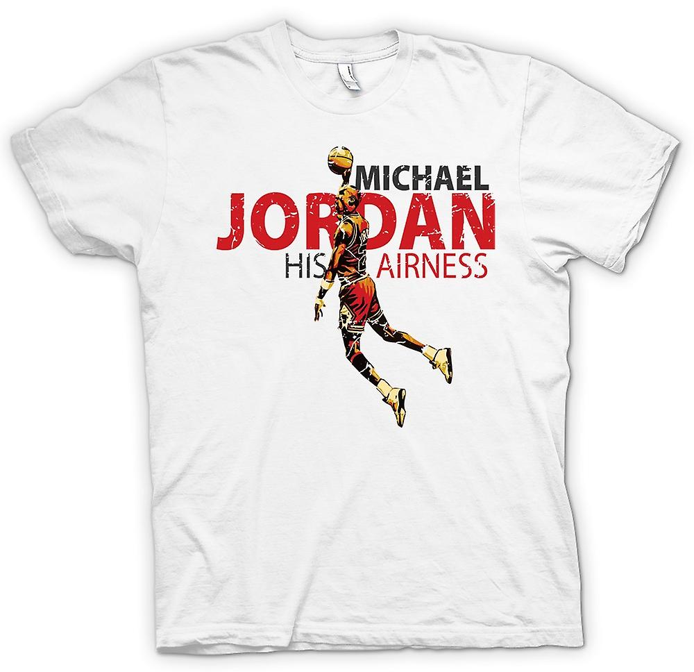 Womens T-shirt - Michael Jordon - His Airness
