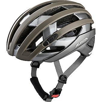 Alpina Campiglio bike helmet / / sepia/titanium