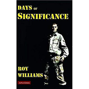 Days of Significance (Modern Plays) (Modern Plays)