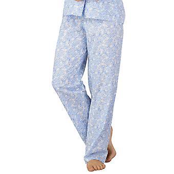 Slenderella PJ3214 Women's Cotton Woven Pajama Pyjama Set