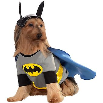 Собака костюм Бэтмена