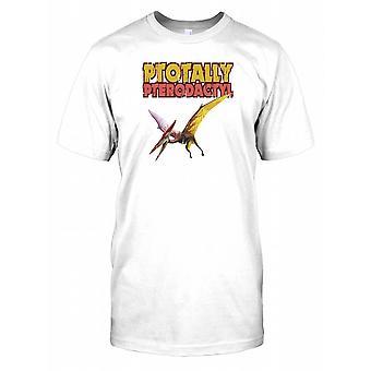 Ptotally Pterodactyl Cool Dinosaur Kids T Shirt