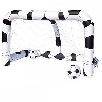 Bestway Inflatable Soccer/Football Net comprend 2 ballons gonflables & réparation