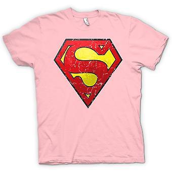 Kids T-shirt - Superman Distressed Logo - Cool
