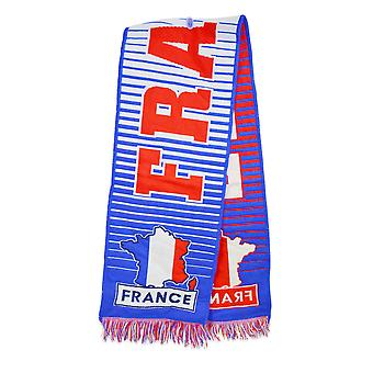France Fan Scarf (Blue)
