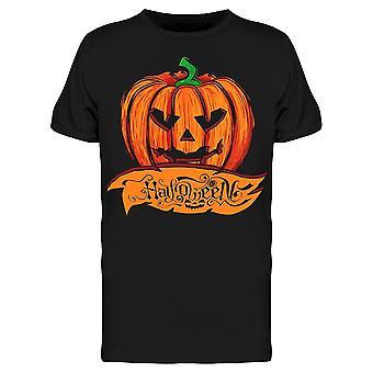 Halloween calabaza eslogan camiseta hombres's -Imagen por Shutterstock