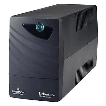 Emerson network power li32121ct00 ups 480w 800va black color