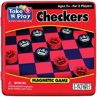 Take N Play Anywhere Game Tin Checkers Tnp 671