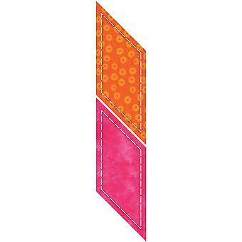 Go! This & That Fabric Cutting Dies Go! Parallelogram 55148