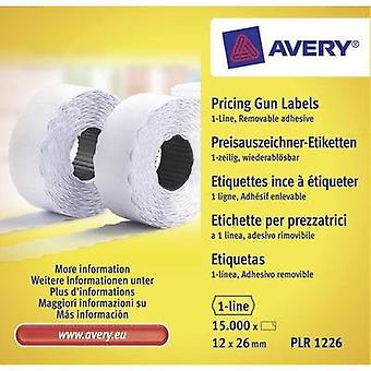 Etiquetas Avery Zweckform (rodillo) 26 x 16 mm papel blanco 15000 PC etiquetas removibles PLR1226 precio