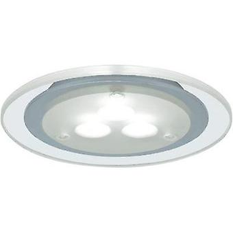 LED flush mount light 3-piece set 9 W Warm white Paulmann
