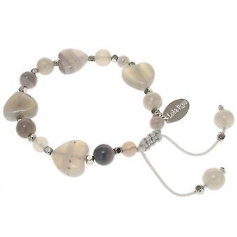 Lola Rose Iola Bracelet Grey Persian Agate