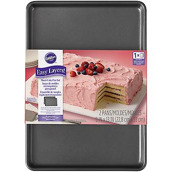 Easy Layer Sheet Cake 2/Pkg-9