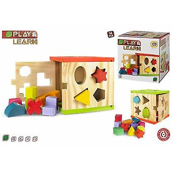 Colorbaby Activities Cube Wood (Toys , Preschool , Puzzles And Blocs)