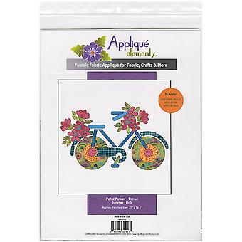 Urban Elementz Fusible Applique-Petal Power - Summer UEA1149
