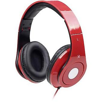 Gembird Detroit Hi-Fi Headphones Red