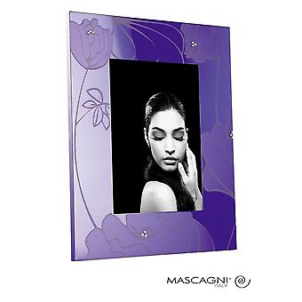 Mascagni Purple Flower Photo Frame