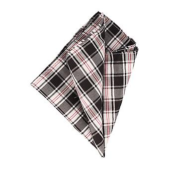 OTTO KERN handkerchief Hanky Cavalier cloth silk black checkered