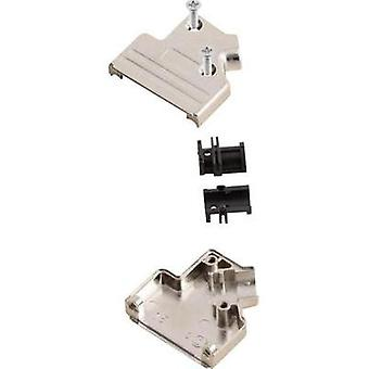 D-SUB housing Number of pins: 25 Metal 45 ° Silver MH Connectors MHDVSL25-K 1 pc(s)