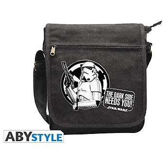 Abysse Star Wars Messenger Bag Troopers Small Size Whit Hook