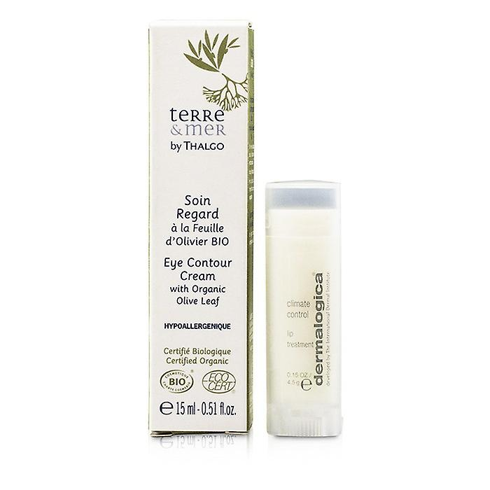 Thalgo Terre & Mer Eye Contour Cream With Organic Olive Leaf 15ml/0.51oz