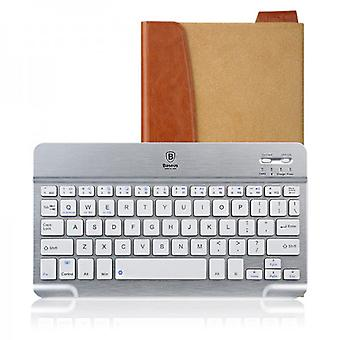 Baseus Tron series Bluetooth keyboard case noble brown beige