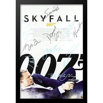 James Bond: Skyfall - firmato Poster del film