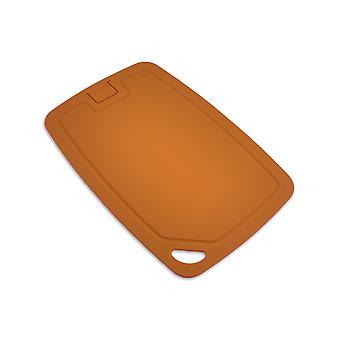Wellos Eco Friendly Antibacterial Chopping Board, 30cm x 20cm, Orange