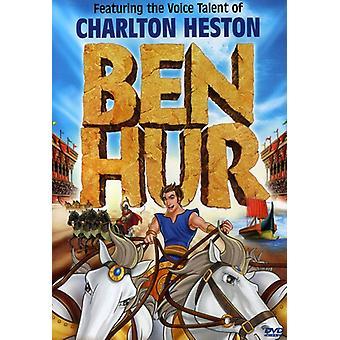 Ben Hur [DVD] USA importerer