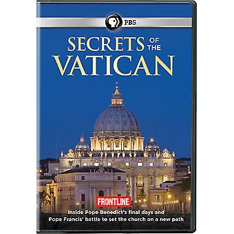 Frontline: Secrets of the Vatican [DVD] USA import