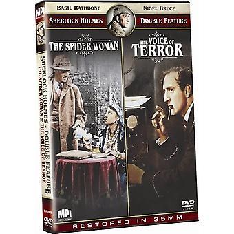 Spider kvinde/stemme af Terror [DVD] USA importerer