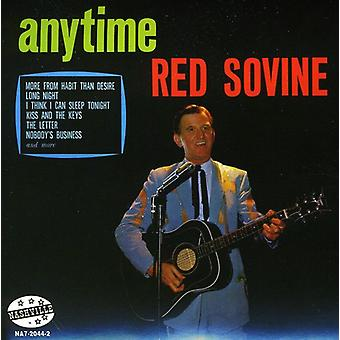Red Sovine - Anytime [CD] USA import