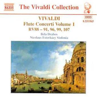 A. Vivaldi - Vivaldi: Flute Concerti, Vol. 1 [CD] USA import