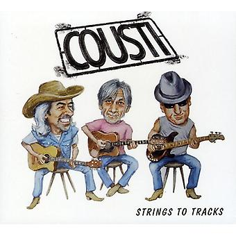 Cousti - Strings to Tracks [CD] USA import