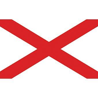 5 ft x 3 ft flagg - Irland - St Patrick Cross