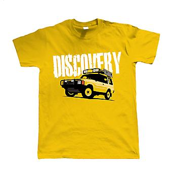 Vectorbomb, Discovery, Mens Off Road Tshirt