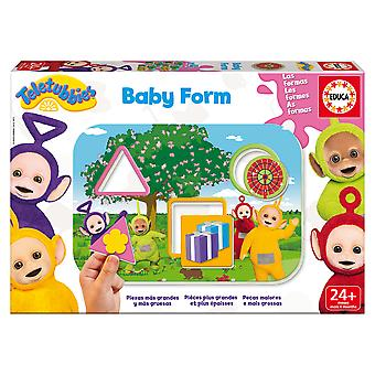 Educa Teletubbies Baby Form + 24 Meses (Toys , Preschool , Puzzles And Blocs)